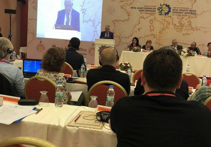 Konferenca e 2-te Euro- Mesdhetare per Punonjesit e Metalurgjise Didim, Turqi, 10-12 Maj 2018