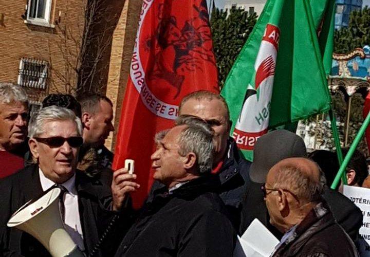 Proteste para ministrise se Energjise per statusin e minatoreve