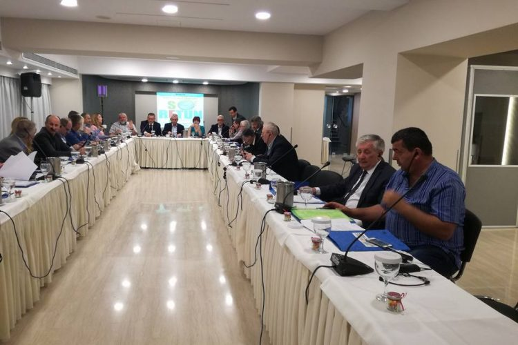 Executive Committee of RETUNSEE, Athene, Greece, 19 April 2018